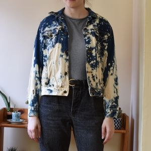 Very Acid Washed Vintage Jean Jacket